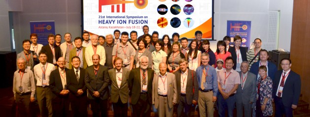 INTERNATIONAL CONFERENCE ON PHYSICS 'HEAVY–ION INERTIAL FUSION HIF 2016' KICKS OFF