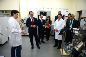 PM to visit Lab of Physics