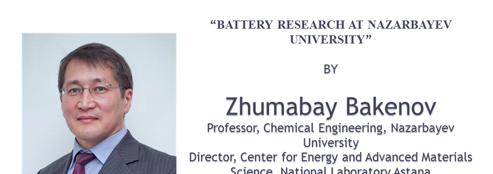 BATTERY RESEARCH AT NU