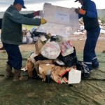 Фото полигона мусор
